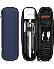 ProCase Hoes penhouder voor iPencil 1. 2. Gen/Samsung/Huawei/Surface Stylus Pen, Eva hoes beschermhoes met opbergvak voor S Pen en USB-kabel -Navy