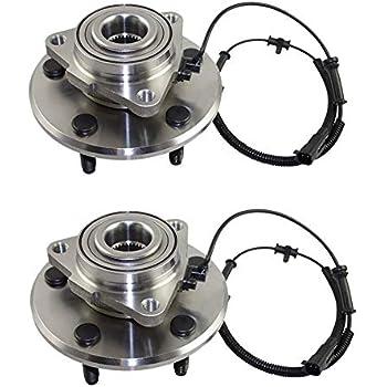 Pair FRONT Premium Grade 2 Wheel Hub Bearing Assemblies 5 Lug 4WD ABS 515073 Callahan 515073X2