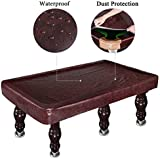 Kohree 7/8/9FT Heavy Duty Leatherette Billiard Pool Table Cover, Waterproof & UV Protection, 7/8/9 Foot Fitted