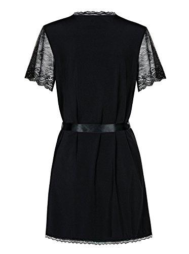 mujer 1001 kleine de sachen negro Vestido 6cIAWBn4
