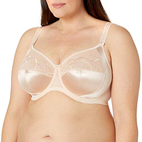 Elomi Women's Plus-Size Cate Underwire Full Cup Banded Bra,Latte,34HH UK/34L US