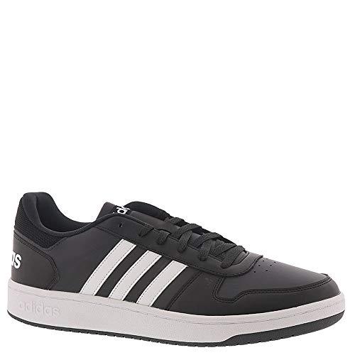 adidas Men's Hoops 2.0 Sneaker, Black, 9 M US