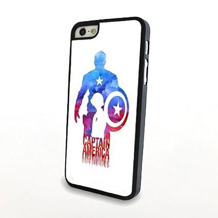 Amazon.com: Anyphone protectora funda barata Comic Capitán ...