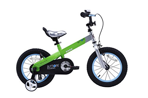 RoyalBaby Matte Buttons Kid's Bike, Boy's Bikes and Girl's