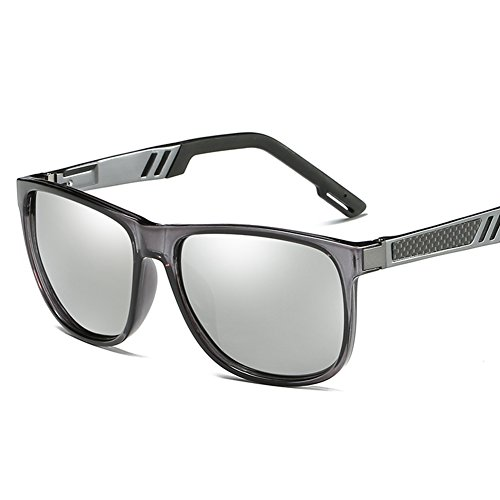 Protección De C4 Gafas Mujer C1 400 Sol para UV Polarizadas Hombre para Aviator dqr87q