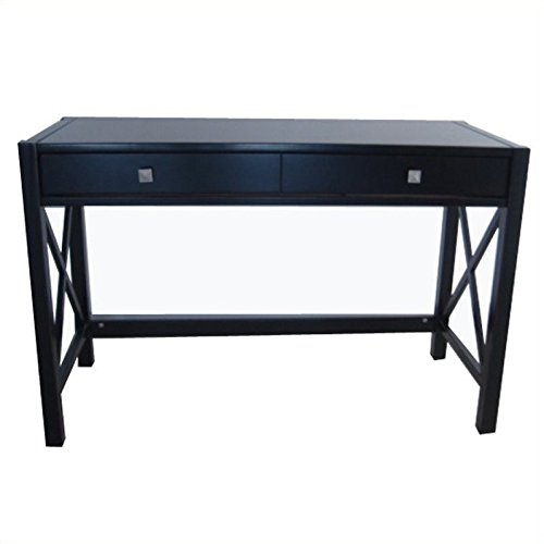 black writing desks amazoncom - Black Writing Desk