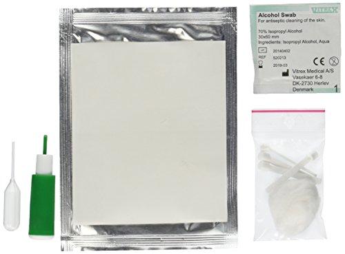 Blood Type Eldoncard Typing Test Kit Includes: 1 Eldoncard, Lancet, - 1 Test Kit