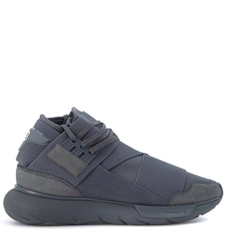 Men's Y-3 Qasa High Top Grey Sneakers Running shoes 10 D(M) US=44EU