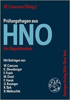 Prüfungsfragen aus Hno: Ein Repetitorium