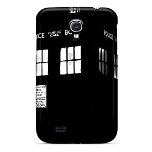 Saraumes LIkzgQP5761nsixj Case For Galaxy S4 With Nice Tardis Movies Appearance