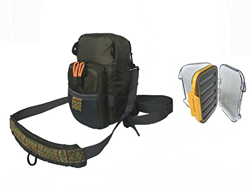 Riffle Fly Fishing Chest Pack and Fly Box (Fly Fishing Tackle Box compare prices)