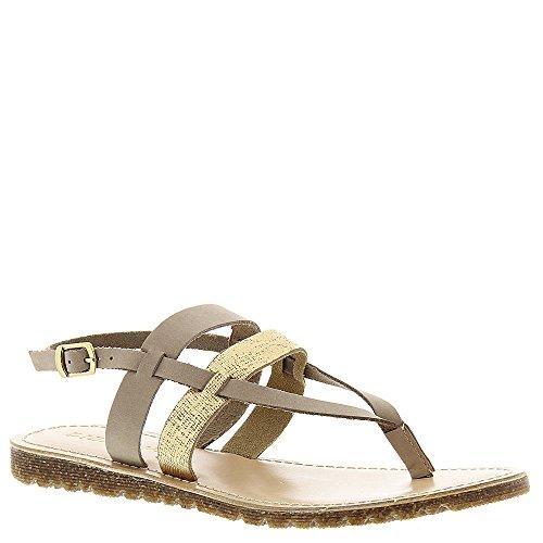 Diba Simon Says Leather Sandal, Natural-Gold, Size ()