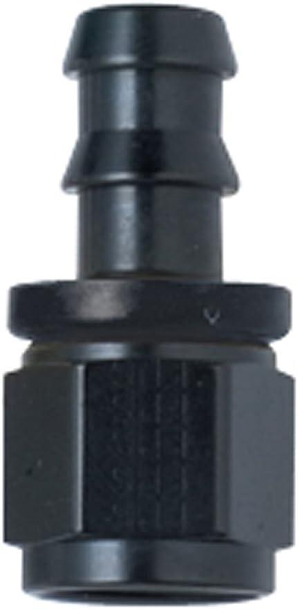 -16 90/° Push Lock Hose Fitting Fragola 209016-BL Black Size