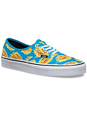 Vans Late Night Authentic Shoes, 12 M US, Blue Atoll/Fries
