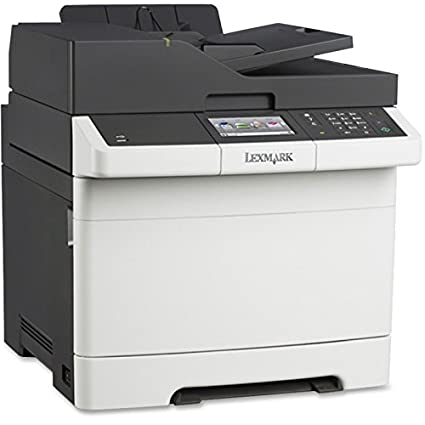 Lexmark CX410e - Impresora multifunción láser color - Papel normal ...