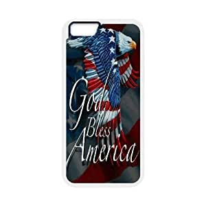 "AKERCY Eagle American Flag Wings Phone Case For iPhone 6 (4.7"") [Pattern-6]"
