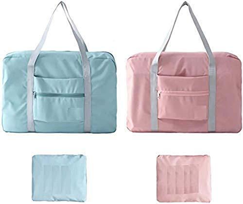 AARIV INTERNATIONAL Waterproof Carry-on Foldable Travel Nylon Duffel Bag (Multicolor)