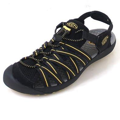 b2ee4dcbdb78 KEEN Kuta Men Kuta m-Black Ceylon Yellow  Amazon.co.uk  Shoes   Bags