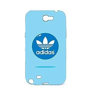 Bright Cute Adidas Logo Phone Case cover for Samsung Galaxy Note 2 N7100 Adidas Series 3D