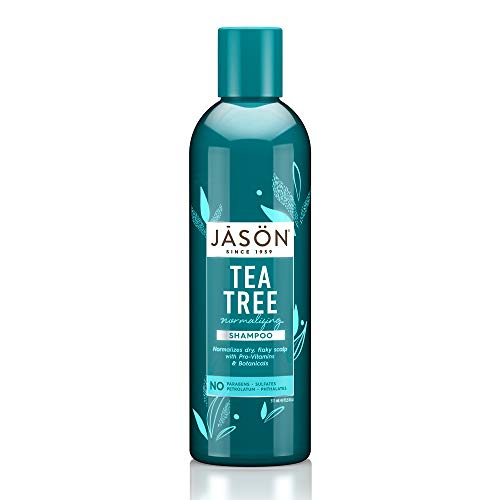 Jason Natural Products Normalizing Treatment Shampoo, Tea Tree, 17.5 Fluid Ounce