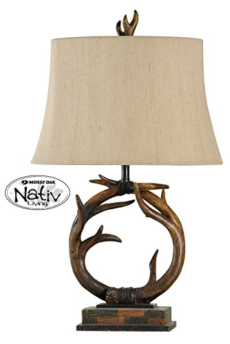 (Collective Design 720354122585 Table Lamp, Dark Brown )