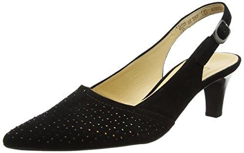 Schwarz Gabor Escarpins Femme Shoes Noir Fashion 17 rwxHw