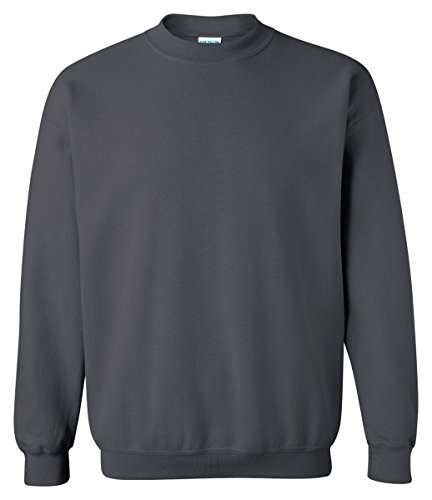 - Gildan 18000 - Classic Fit Adult Crewneck Sweatshirt Heavy Blend - First Quality - Sport Grey - Medium