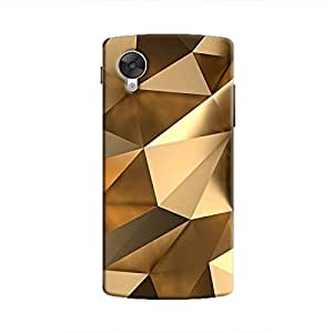 Cover It Up - Gold Angles Nexus 5 Hard Case