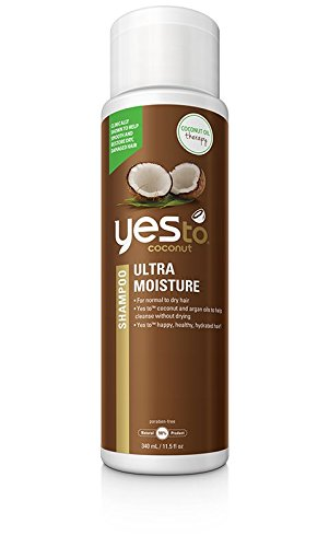Yes To Coconut Ultra Moisture Shampoo, 11.5 Fluid Ounce (The Natural Coconut Shampoo)