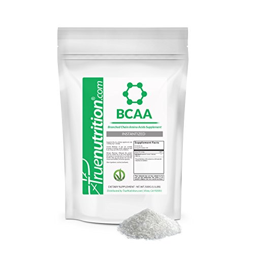 True Nutrition BCAA's - Branched Chain Amino Acids - Instantized | 500 Grams |