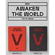 LABEL V WAYV - Awaken The World (Vol.1) Album+On Pack Poster+Extra Photocards Set (Awaken+World ver. Set)