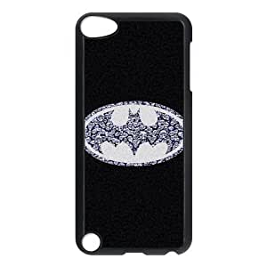 DIY Fashion Batman Logo Hard Shell Snap On Slim Cover Case for iPod Touch 5¡ê? 5th Generation