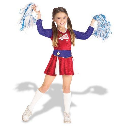 Retro Cheerleader Costume Girls 12 14