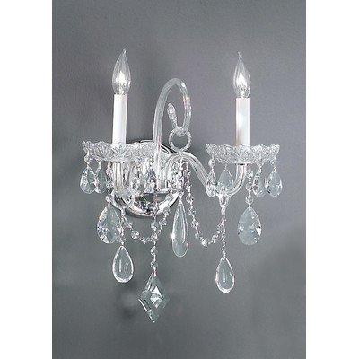 Classic Lighting 8282 CH SC Prague, Crystal All Glass, Chandelier, 9