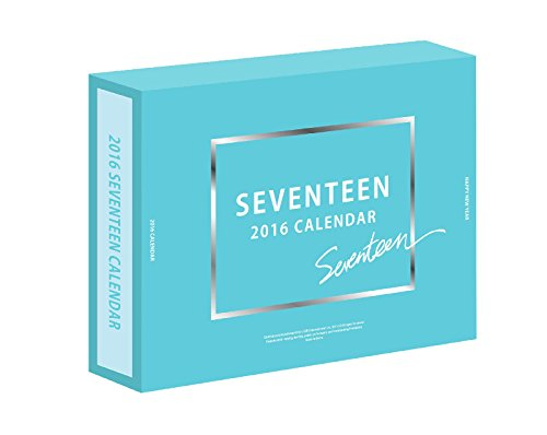 SEVENTEEN 2016 Season's Greetings Official Calendar [24p Calendar + 12p Diary + 4 Postcards]