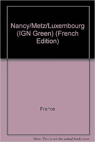 Read Nancy - Metz - Luxembourg - 8e édition -. Carte n° 11 - échelle : 1 cm = 1 km epub pdf