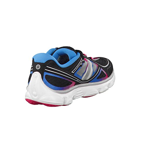 Brooks Pureflow 2 - Zapatillas de Deporte Unisex Niños Negro - Black/Raspberry Sorbet/Blue Jewel