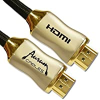 Aurum - High Speed HDMI Cable (40 Ft) With Ethernet - Supports 3D & Audio Return Channel [Latest Version] - 40 Feet