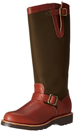 "Chippewa Women's 15"" Pull On L23913 Snake Boot,Brown,9.5 M US"