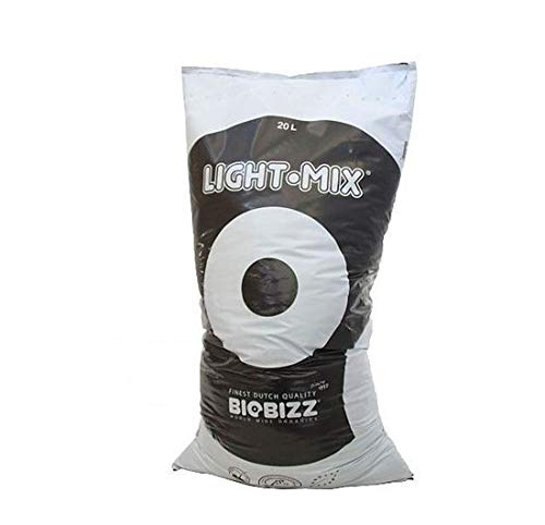 10, 20, 50Litre & Pallet BIOBIZZ Light Mix Organic Soil Potting Compost HYDROPONIC BIO Bizz Grow (20 Litre)