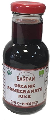 Bagdan Organic Cold Pressed Pomegranate Juice (pack of 5)