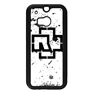 Handsome Cool Rammstein Logo Skin Case snap on Htc One M8 Durable Plastic Case