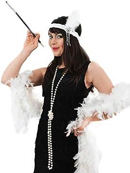 Disfraz de charlestón para Instant Gatsby Kit diadema de plumas de ...