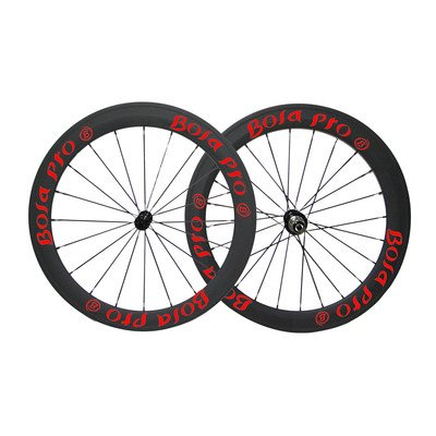 Bola Pro carbon bike wheelset,240℃ High TG ceramic braking surface,+/-0.2mm offset,Two Year Warranty,700C 50mm high 25mm wide tubeless carbon rim with DT Swiss 350s hub and Sapim Cx ray 20/24 spoke -  Bola Bicycle Co.,Ltd, RDR5