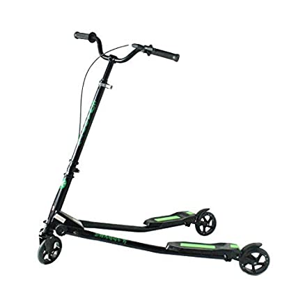 Amazon.com: Kidzmotion Swagger 3 Rueda Swing Scooter Speeder ...