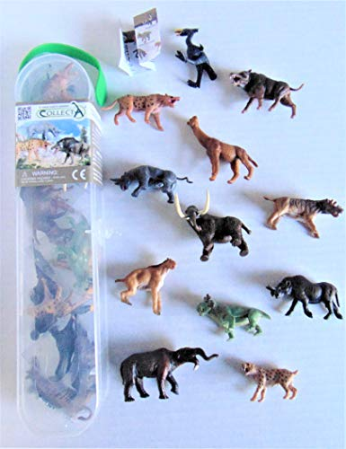 Collecta 12 Prehistoric Animal Models Tube