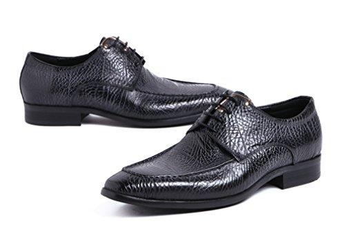 Dilize Noir Chaussures pour lacets à de homme ville ZprwqRZ1