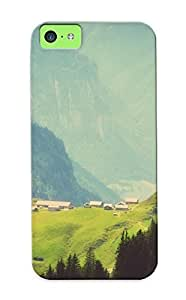 Awesome D43a33d5814 Inthebeauty Defender Tpu Hard Case Cover For Iphone 5c- Mountains