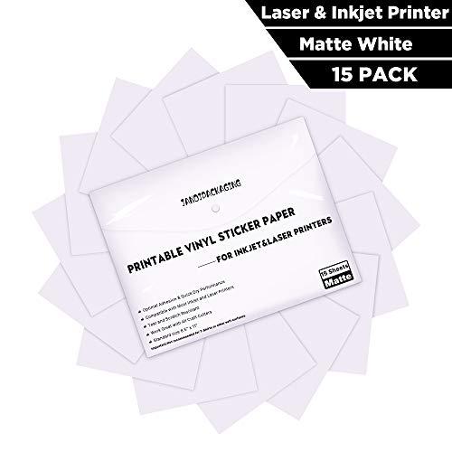 Printable Vinyl Sticker Paper