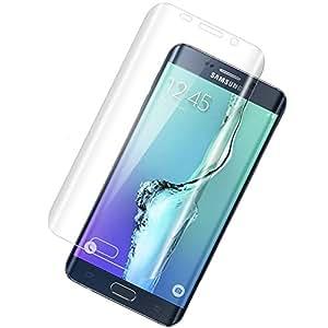 BeCool® - Protector de Pantalla Premium para Samsung Galaxy S6 Edge, Resistente contra Arañazos